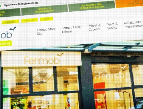 Fermob Flagshipstore Köln – Corporate Internetseite