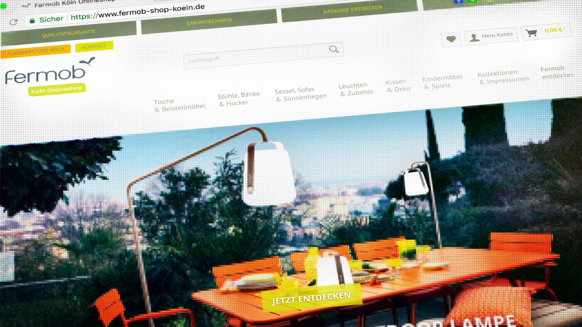 Online Shop Corporate Internetseite Von Fermob Köln Gelauncht